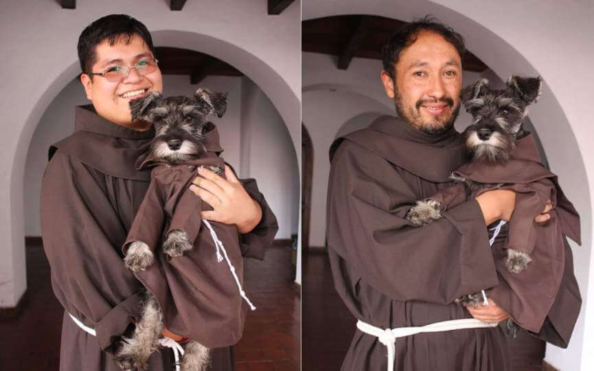 Fray Bigotón, el perro monje